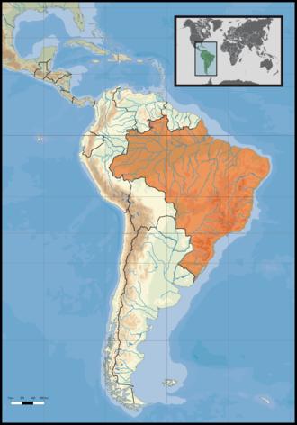 brasilien karte