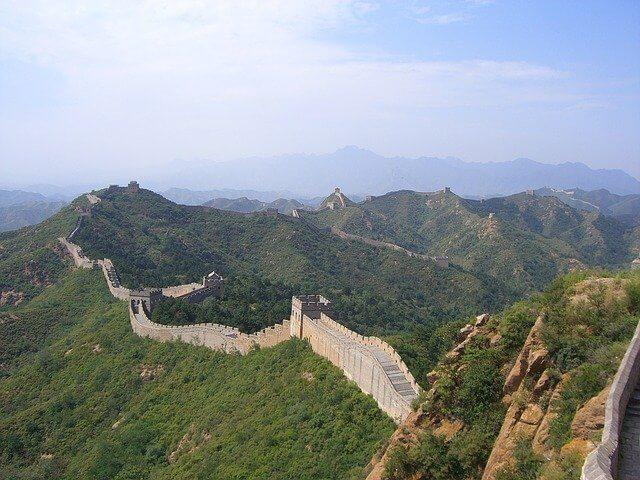 Die Chinesische Mauer in China