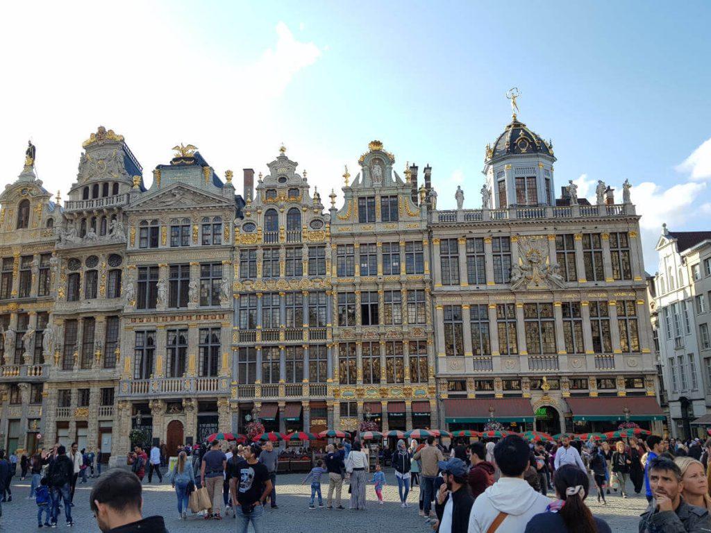 Grand Place bzw. Grote Markt eine Sehenswürdigkeit in Brüssel