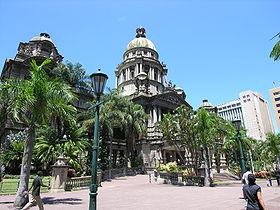 historische architektur durbann city hall