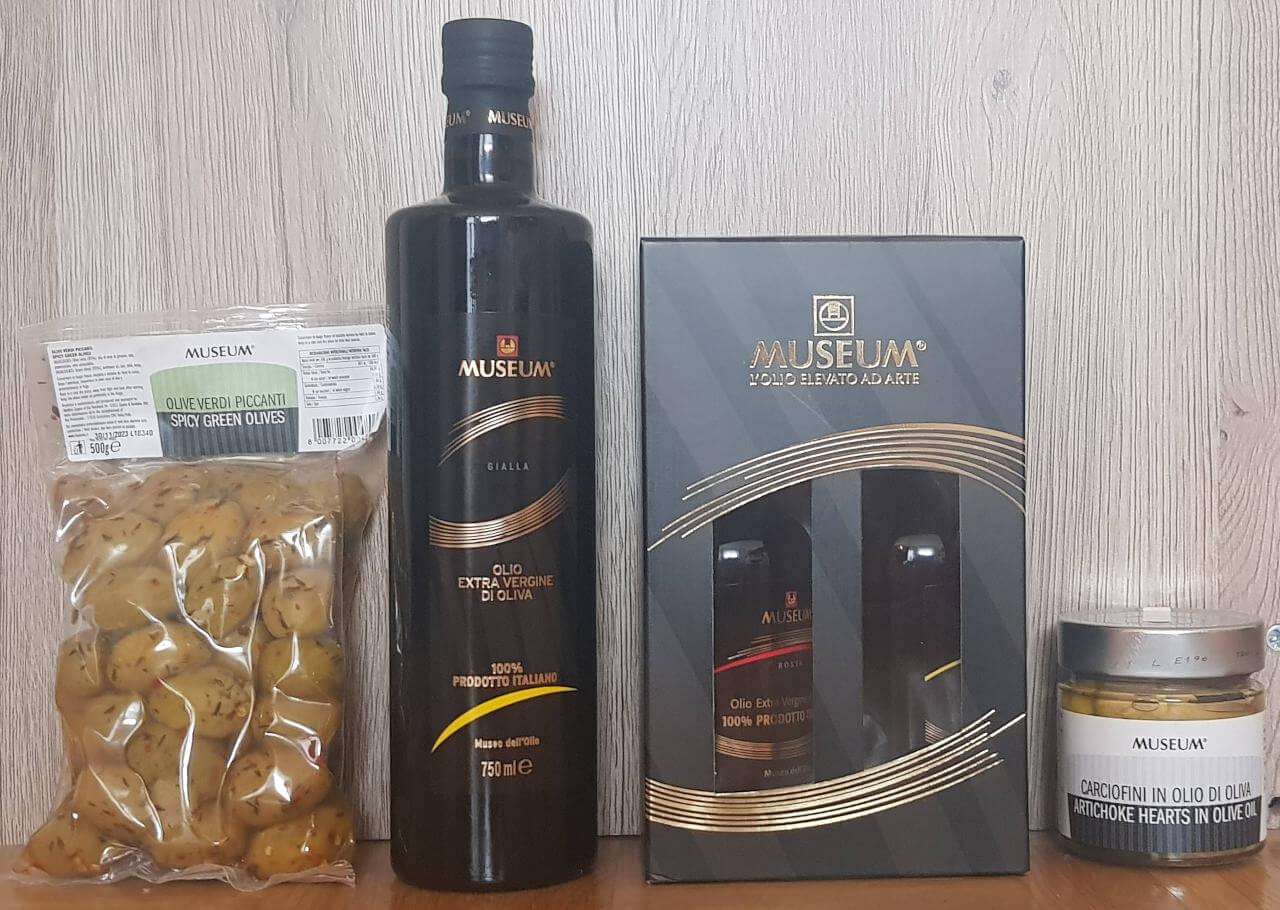 Produkte aus der Olivenölmühle in Bardolino