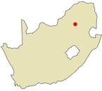 Lage von Pretoria